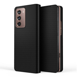 Samsung fold 2 Cover - Leather Magnetic Flip