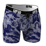 Parent UFM Underwear for Men Sport Polyester 6 inch Boxer Brief Tundra 800