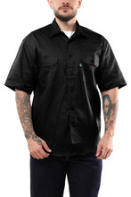 Load image into Gallery viewer, KS03 - Kolossus Men's Lightweight Cotton Blend Short Sleeve Work Shirt with Pockets
