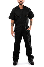 Cargar imagen en el visor de la galería, KC08 - Kolossus Pro-Utility Cotton Blend Short Sleeve Coverall with Zip-Front Pockets
