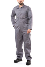 Load image into Gallery viewer, KC07 - Kolossus Pro-Utility Cotton Blend Long Sleeve Coverall with Zip-Front Pockets
