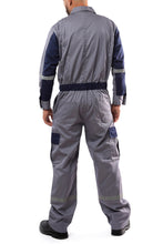 Load image into Gallery viewer, KC01 - Kolossus Deluxe Long Sleeve Cotton Blend Coverall with Enhanced Visibility