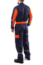 Carregar imagem no visualizador da galeria, KC01 - Kolossus Deluxe Long Sleeve Cotton Blend Coverall with Enhanced Visibility