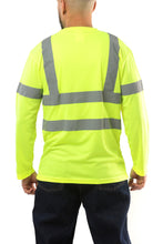 Load image into Gallery viewer, KS07 - Kolossus AirFlex ANSI Class 3 Compliant High Visibility Long Sleeve Safety Shirt - Yellow