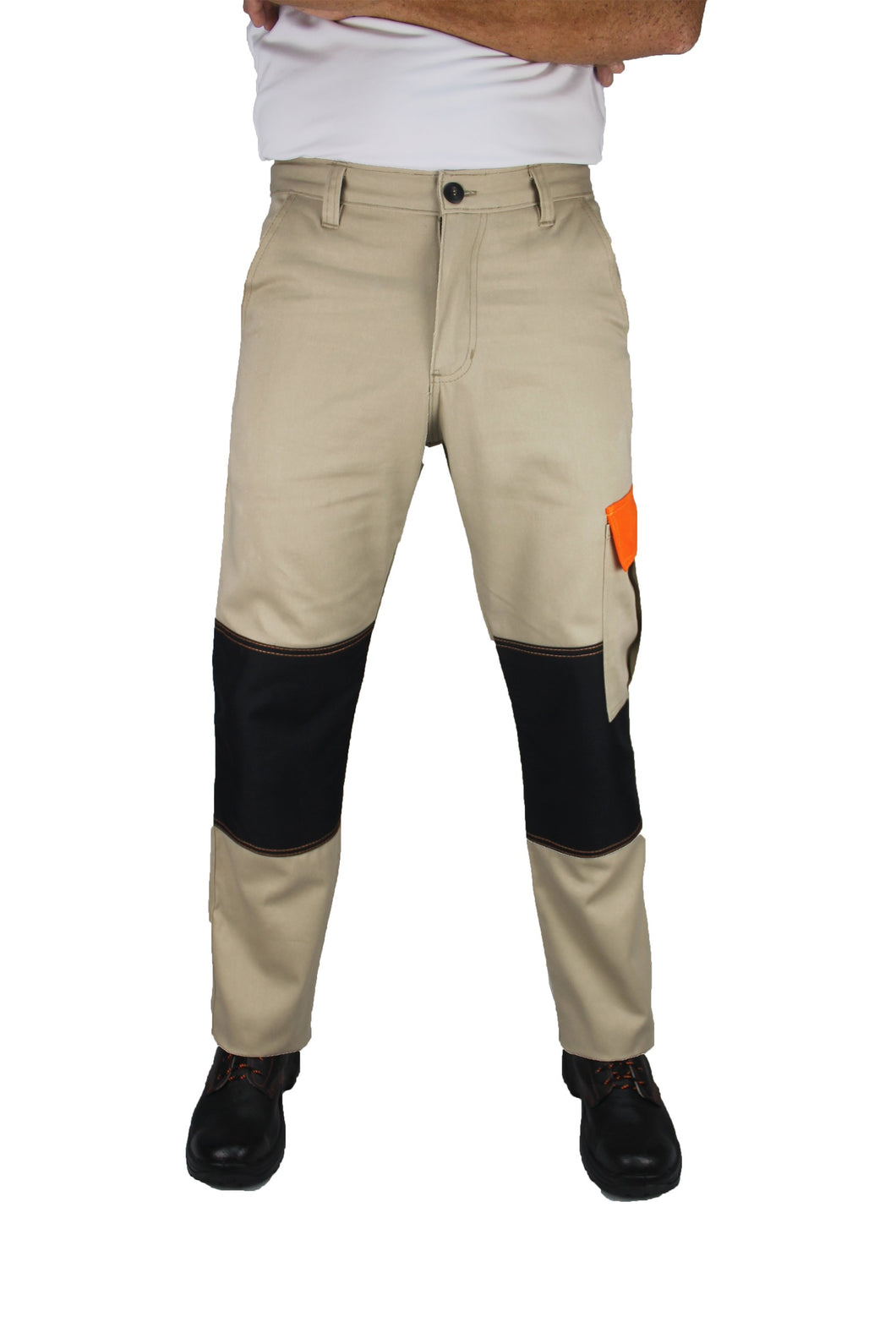 KP05 - Kolossus Original Fit 100% Cotton Utility Cargo Pant with Cordura Knee Reinforcement