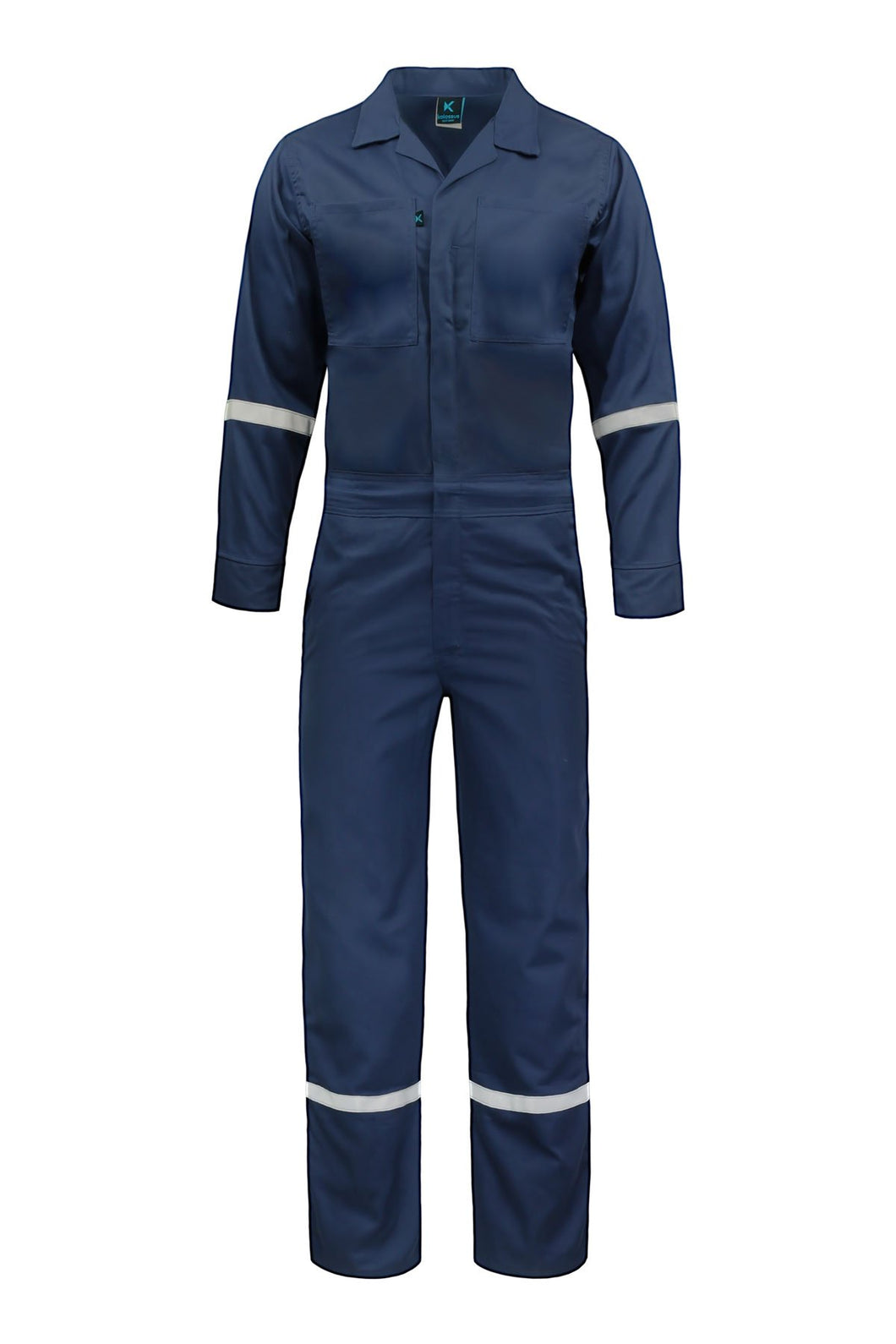 KC13 - Kolossus Defense 88/12 Flame Resistant 7oz Cotton / Polyamide Twill Coverall