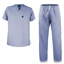 Load image into Gallery viewer, Kolossus mens medical scrub set light purple