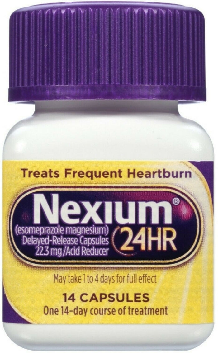 Edmonds Mall - Nexium 24HR All Day & All Night Heartburn Protection