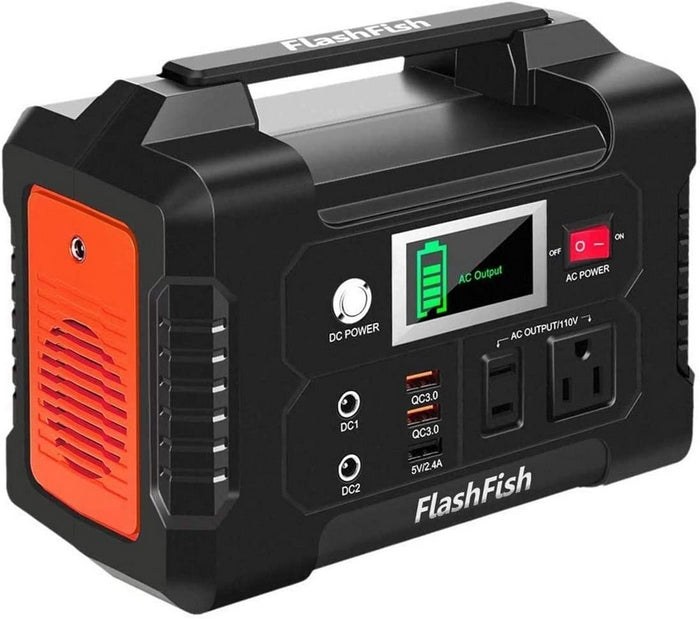 FlashFish 200W Portable Battery Pack Power Supply System
