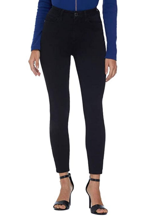 GUESS Factory Simmone Super High-Rise Skinny Jeans