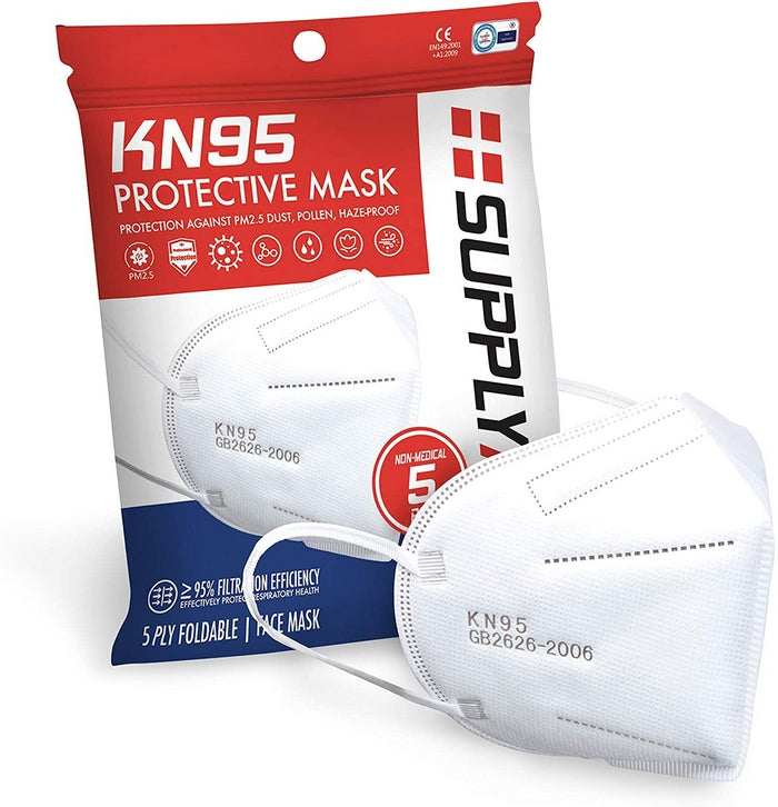 Edmonds Mall - KN95 Protective Mask 5 Pack