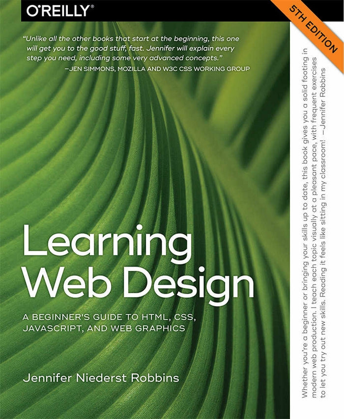 Edmonds Mall - Learning Web Design A Beginner's Guide to HTML, CSS, JavaScript, and Web Graphics