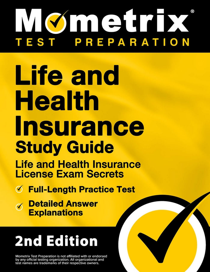 Edmonds Mall - Life and Health Insurance License Study Guide Exam Secrets