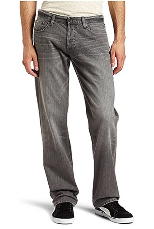 Lucky Brand Mens 221 Grey Stone Straight Leg Jeans