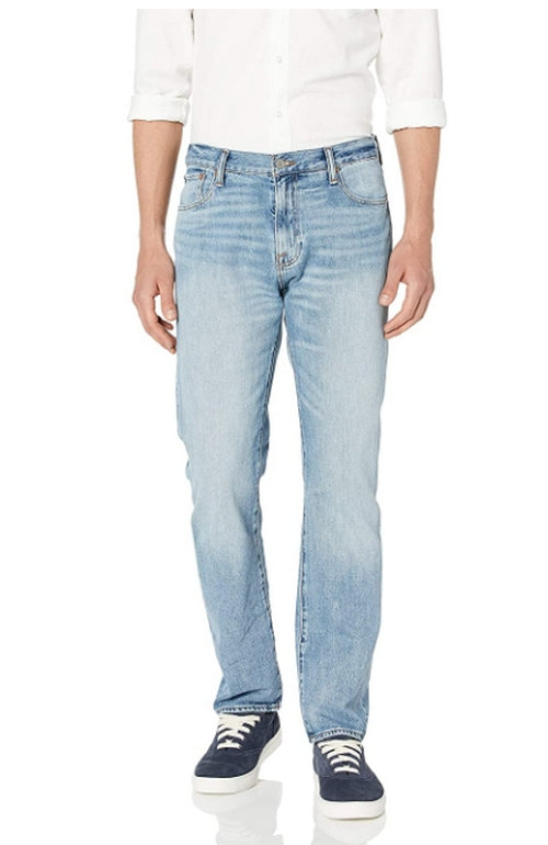 Lucky Brand Mens 410 Acid Wash Athletic Fit Jeans