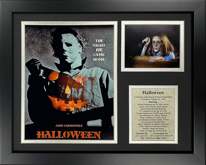 Michael Myers Halloween Classic Horror Movie Collectible Framed Photo Collage