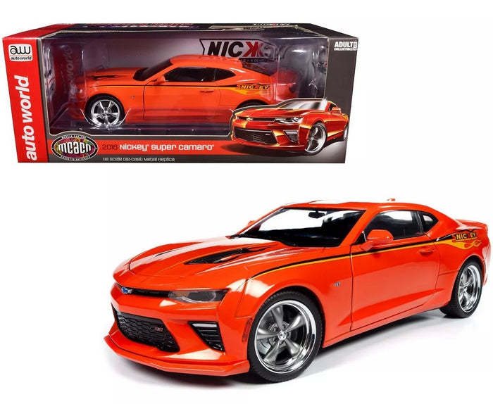 Nickey Super Camaro Hugger Orange with Stripes