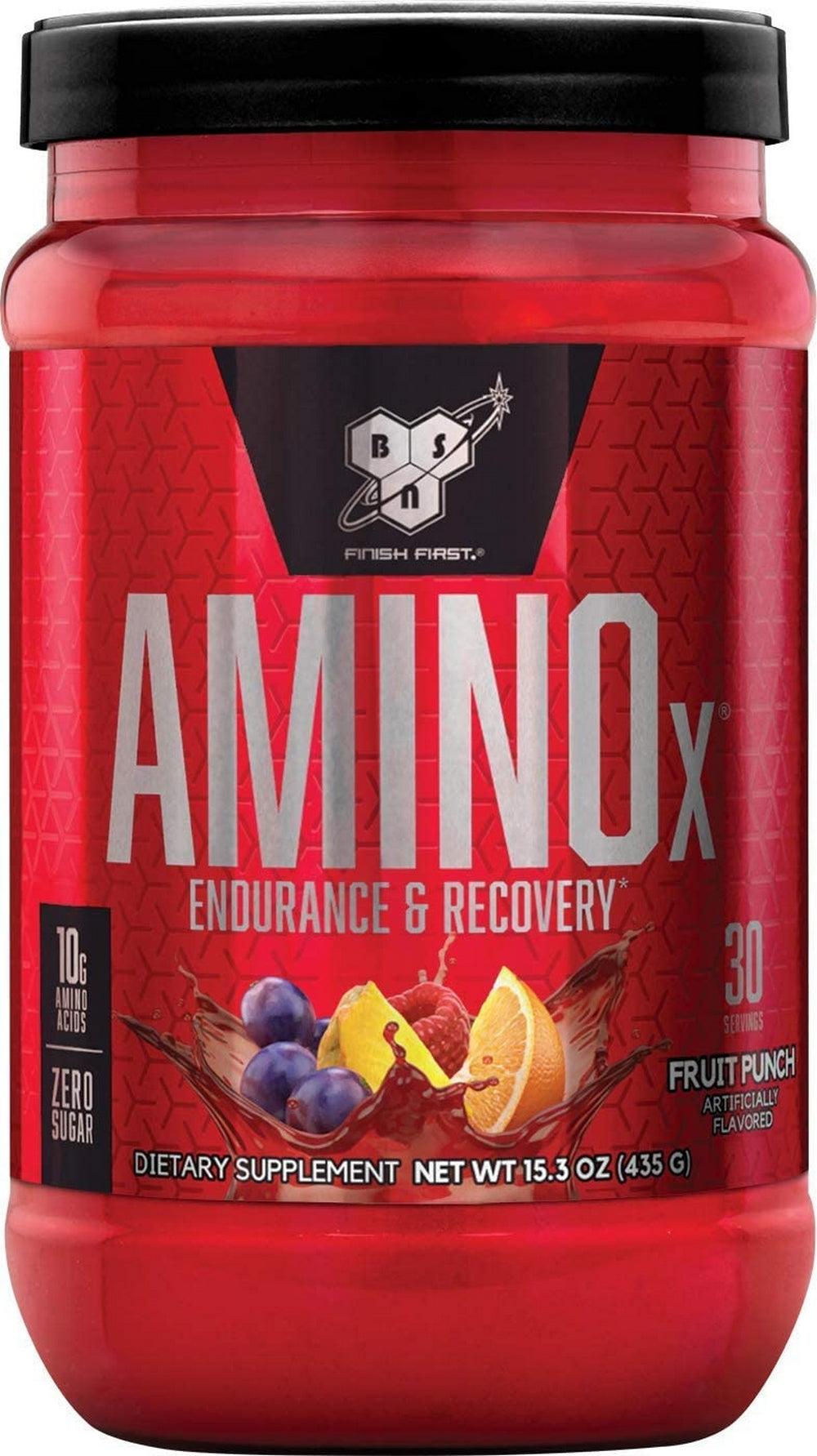 BSN Amino X Muscle Recovery & Endurance Powder with BCAAs | Edmonds Health Goods Store