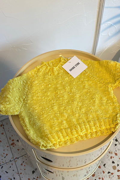 Baby Knit - Yellow