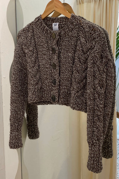 Frisson Knit - Francesca Mocha