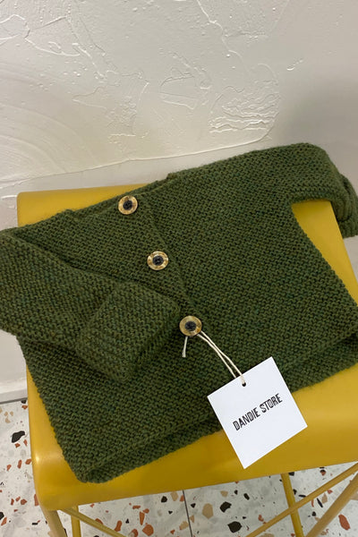 Baby Knit - green