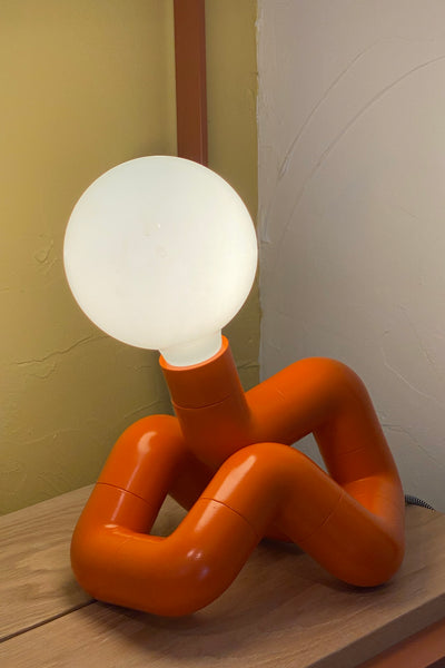 Fisch lamp - Orange