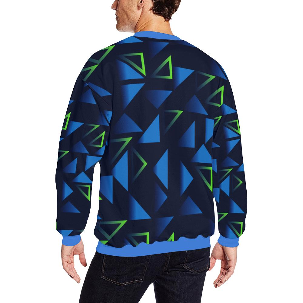 Wakerlook Shape triangle Men's All Over Print Sweatshirt