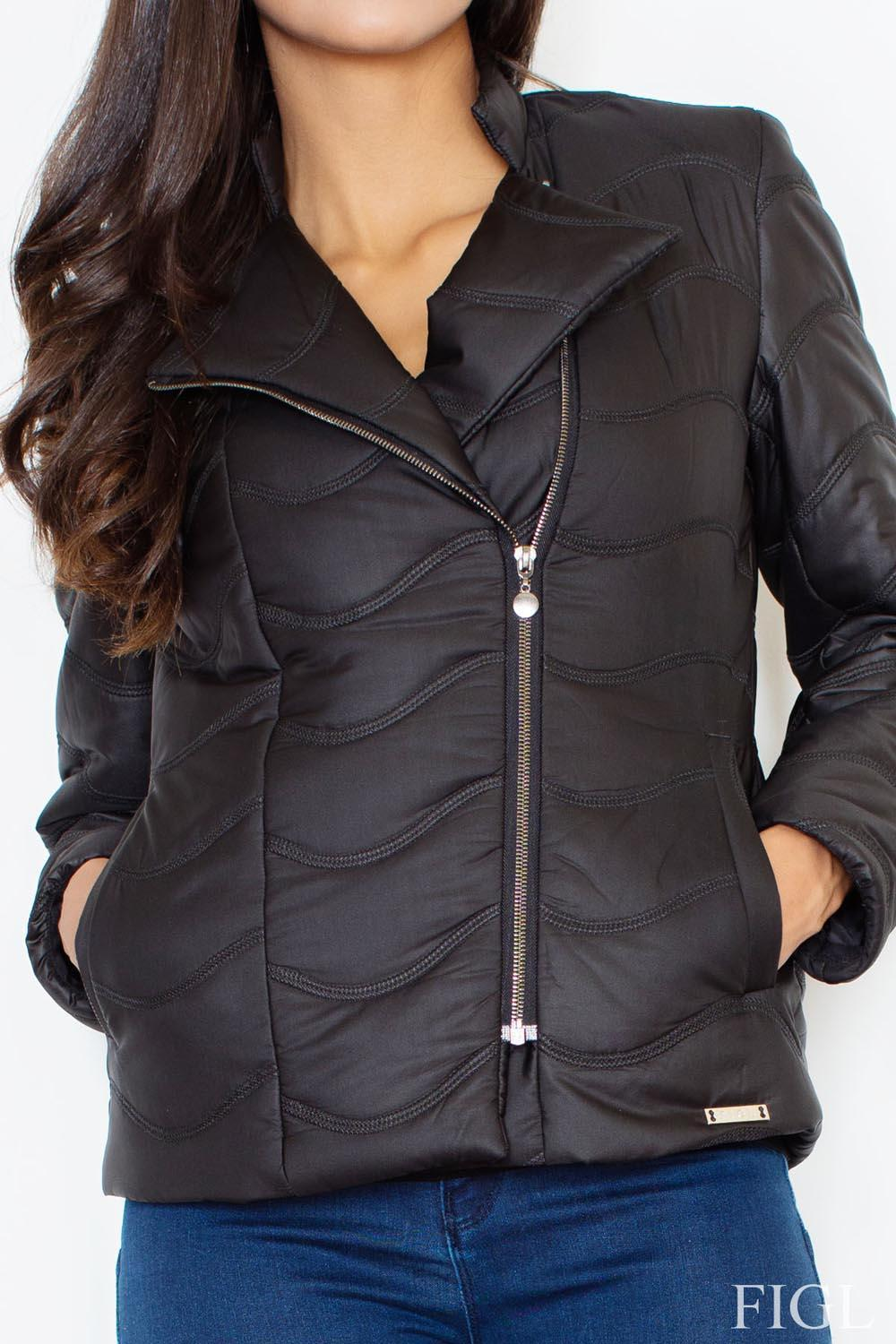 Black Figl Jackets & Coats