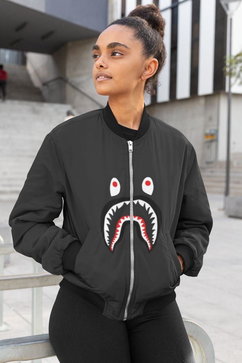 Hip Female Bomber Jacket