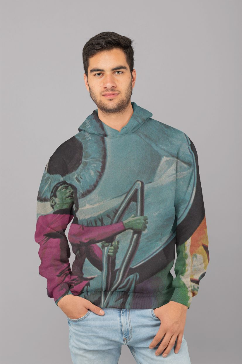 Qitiriz Men Sublimation Hoodie