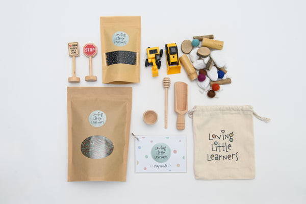 Construction Sensory Play-Kit
