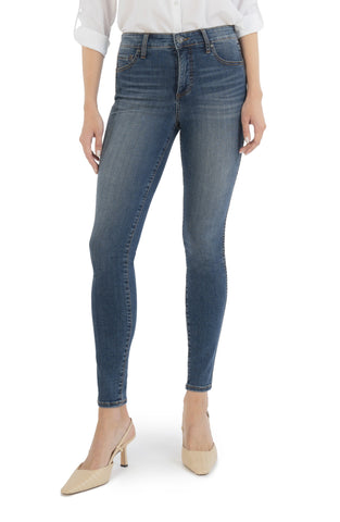 The Mia Skinny Above Wash Kut From the Kloth Sustainable Denim Recycled Bottles