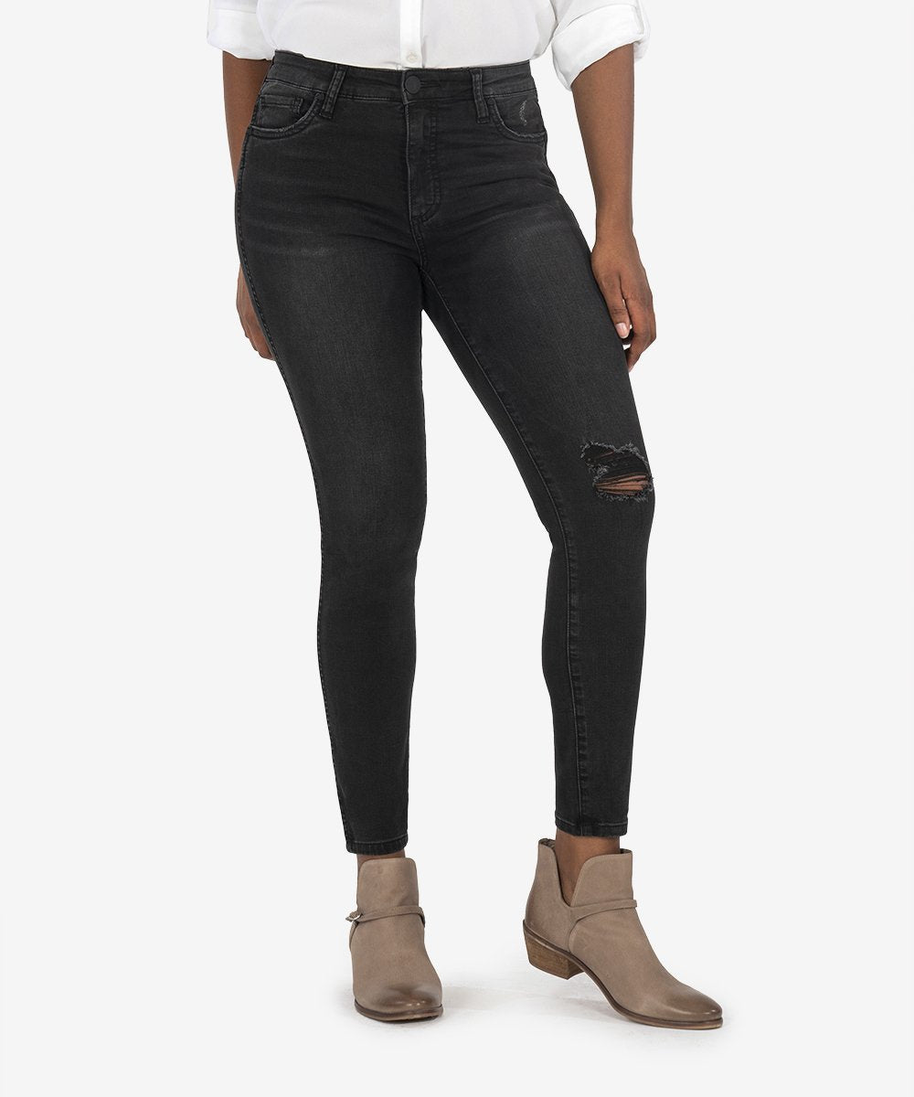 Connie High Rise Fab Ab Ankle Skinny Jean