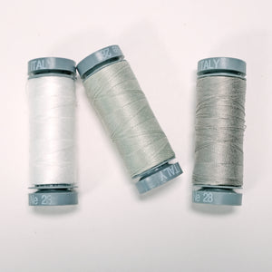 Aurifil 28wt Cotton Thread - Neutral Options