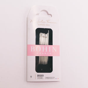 Crewel/Embroidery Needle by Bohin size 9