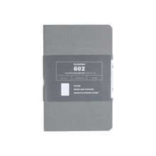 Load image into Gallery viewer, Blackwing Clutch 602 Gray Notebooks (Set of 3) - Ruled Pages