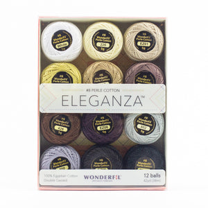Eleganza Perle Cotton Size 8 - Neutrals
