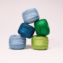 Load image into Gallery viewer, Presencia Perle Cotton #12 - Cool Color Options