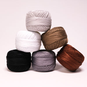 Presencia Perle Cotton #12 - Neutral Color Options
