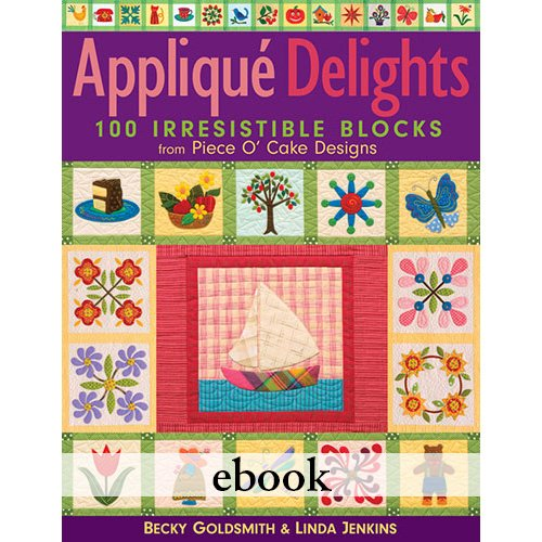 Applique Delights Digital Download eBook