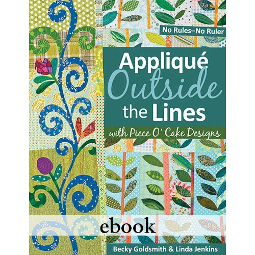 Applique Outside The Lines Digital Download eBook