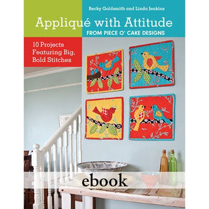 Applique With Attitude Digital Download eBook