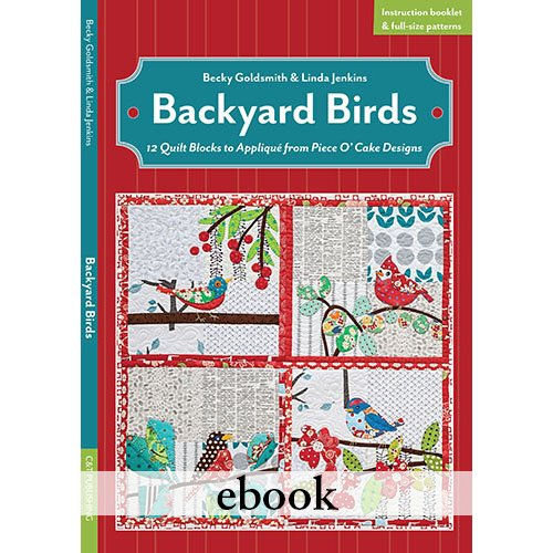Backyard Birds Digital Download eBook