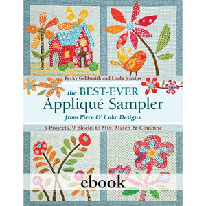 The Best-Ever Applique Sampler Digital Download
