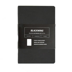 Blackwing Clutch Notebooks (Set of 3) - Ruled Pages