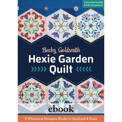 Hexie Garden Quilt - Digital Download