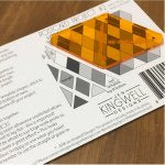 Postcard Project #02: Diamonds from Jen Kingwell Designs