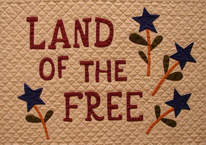 Land Of The Free Digital Download - Block #8 - Land of the Free
