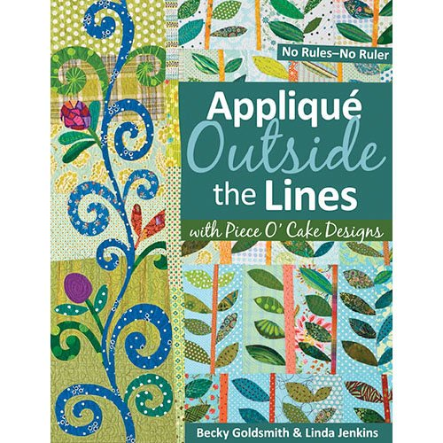 Applique Outside the Lines (Print-On-Demand)