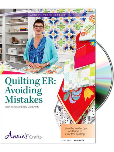 Quilting ER: Avoiding Mistakes- DVD